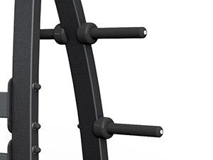 Ławka skośna ze stojakami MF-L004 - Marbo Sport
