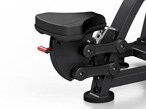 Maszyna na wolny ciężar na najszerszy grzbietu MF-U005 - Marbo Sport