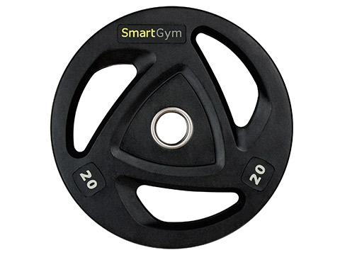 Obciążenie olimpijskie ogumowane HQ 20 kg - Marbo Sport