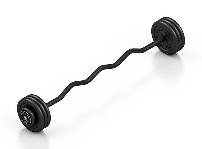 Sztanga stała łamana 40 kg - Marbo Sport