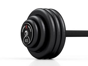 Sztanga stała prosta 45 kg - Marbo Sport