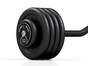 Sztanga stała łamana 50 kg - Marbo Sport