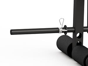 Prasa z regulacją do ćwiczenia nóg do ławek HOME - Marbo Sport