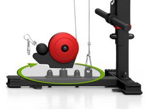 Wyciąg bramowy (brama) do domowej siłowni ― Marbo Sport