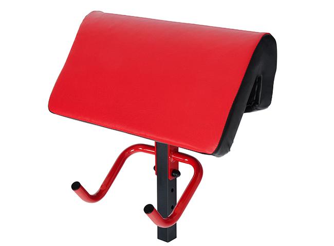Modlitewnik do ławki Semi-Pro z podparciem pod klatkę i uchwytami na sztangę  MS-A114 - Marbo Sport