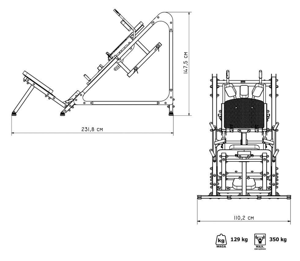Suwnica na nogi MS-U106 - Marbo Sport