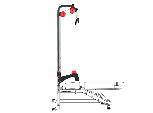 Wyciąg górny i dolny do ławek Semi-Pro - Marbo Sport