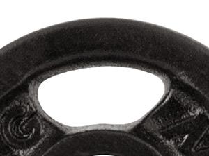 Zestaw gryfów i obciążeń gumowanych 110 kg - Marbo Sport