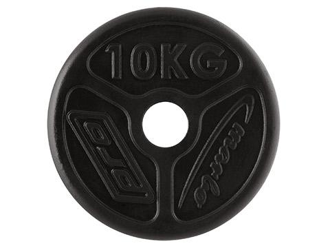 Obciążenie żeliwne olimpijskie 10 kg - Marbo Sport