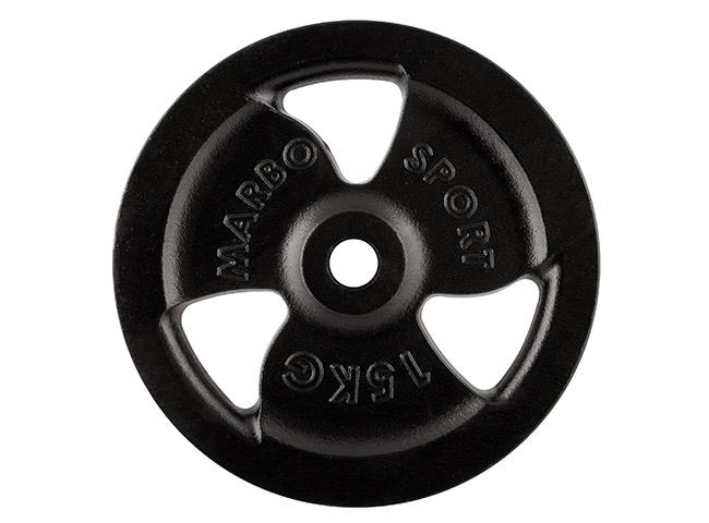 Obciążenie żeliwne 15 kg - Marbo Sport