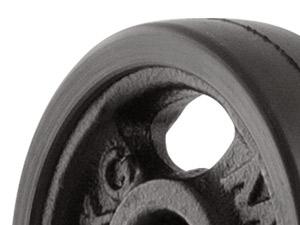 Obciążenie żeliwne gumowane 1 kg - Marbo Sport