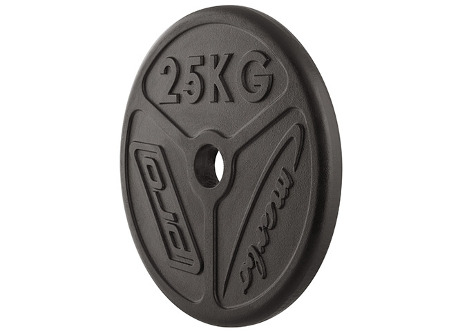 Obciążenie żeliwne olimpijskie 25 kg - Marbo Sport