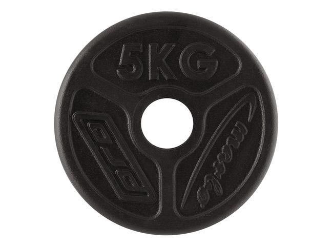 Obciążenie żeliwne olimpijskie 5 kg - Marbo Sport
