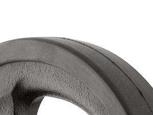 Zestaw gryfów i obciążeń gumowanych 170 kg - Marbo Sport