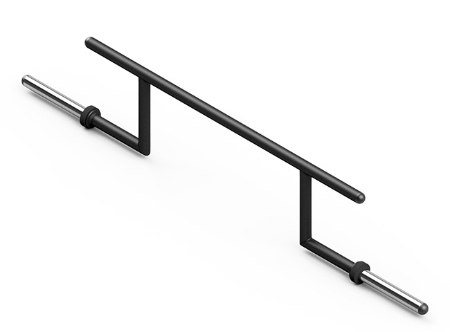 Gryf olimpijski Cambered Bar MF-G011