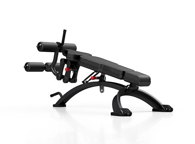 Ławka regulowana na brzuch MF-L005 - Marbo-Sport
