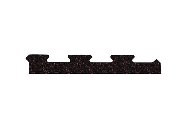 Bok do podłogi pod wolne ciężary puzzle 10 mm mozaika - Marbo Sport