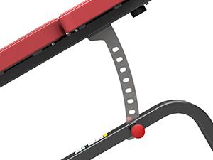 Ławka regulowana na brzuch MP-L205 - Marbo Sport