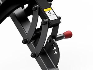 Maszyna na najszerszy grzbietu z podparciem pod klatkę - Marbo Sport