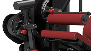 Maszyna 2-w-1 na dwugłowy i czworogłowy uda ― Marbo Sport