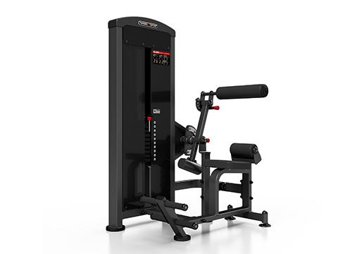 Maszyna 2-w-1 na grzbiet i brzuch ze stosem - Marbo Sport