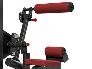 Maszyna 2-w-1 na grzbiet i brzuch ze stosem MP-U220 - Marbo Sport