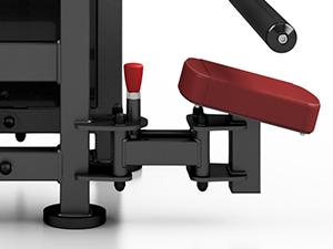 Maszyna na mięśnie pośladkowe MP-U222- Marbo Sport