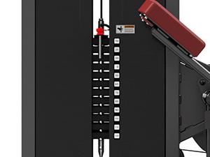 Maszyna na spięcia brzucha MP-U223- Marbo Sport
