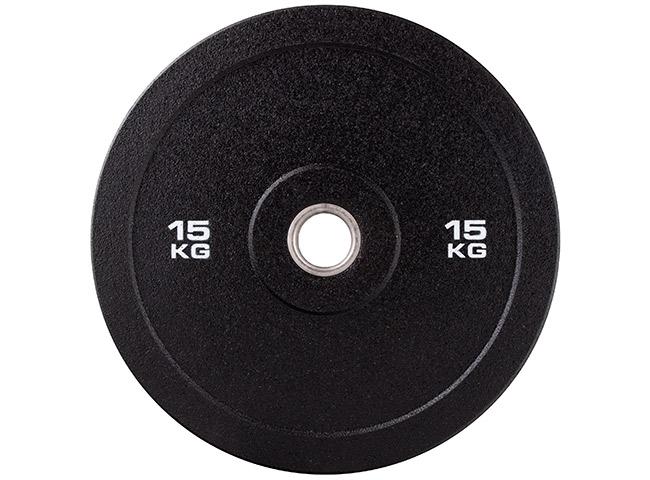 Obciążenie olimpijskie gumowe 15kg MW-Bumper-15KG - Marbo Sport